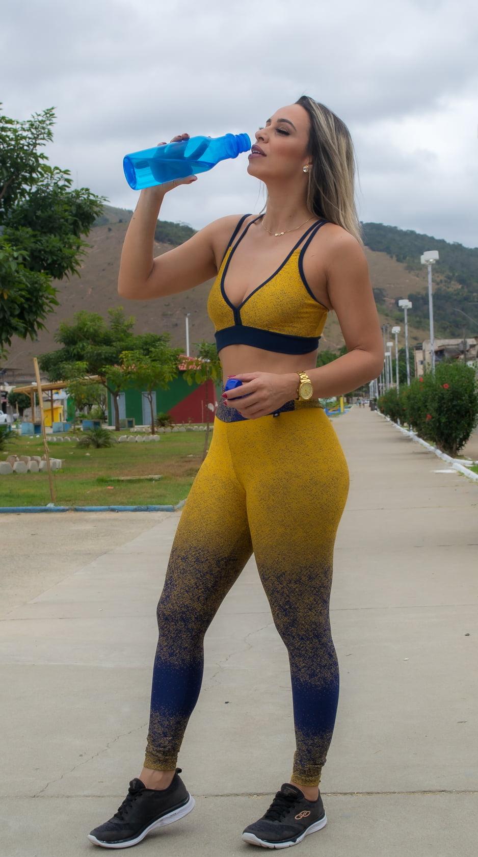 Legging Gold Style